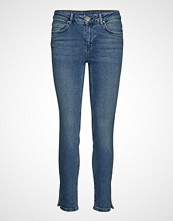 2nd Day 2nd Sally Cropped Waterfront Skinny Jeans Blå 2NDDAY