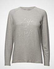 Signal Sweatshirt T-shirts & Tops Long-sleeved Grå SIGNAL