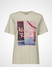 Gina Tricot Ellie Tee T-shirts & Tops Short-sleeved Multi/mønstret GINA TRICOT