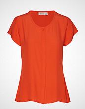 Masai Ia Blouse T-shirts & Tops Short-sleeved Oransje MASAI