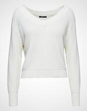 Gina Tricot Maja Knitted Sweater Strikket Genser Hvit GINA TRICOT