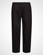 Marimekko Lentoon Solid Trousers Vide Bukser Svart MARIMEKKO