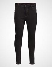 Cheap Monday High Spray Black Terra Skinny Jeans Blå CHEAP MONDAY