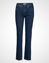 Calvin Klein Slim Jean - Mid Blue Slim Jeans Blå CALVIN KLEIN