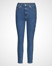 Calvin Klein Ckj 010 High Rise Sk Slim Jeans Blå CALVIN KLEIN JEANS