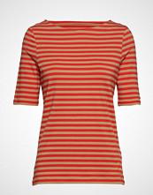 Gant D1. Boatneck Striped Top T-shirts & Tops Short-sleeved Multi/mønstret GANT