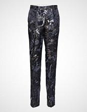 Stine Goya Kevin, 475 Woven Tailoring Bukser Med Rette Ben Blå STINE GOYA