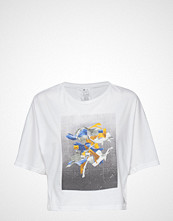 Reebok Performance D Tee T-shirts & Tops Short-sleeved Hvit REEBOK PERFORMANCE