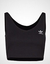 Adidas Originals Sc Cropped Tank T-shirts & Tops Sleeveless Svart ADIDAS ORIGINALS