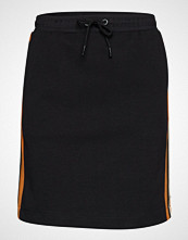 Scotch & Soda Colorblock Sweat Skirt Knelangt Skjørt Svart SCOTCH & SODA