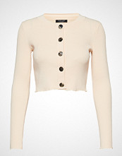 Marciano by GUESS Kyra Sweater Rib Cardign Strikkegenser Cardigan Creme MARCIANO BY GUESS