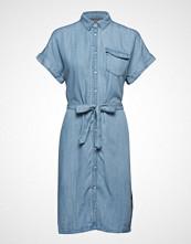 B.Young Bylana Shirt Dress - Knelang Kjole Blå B.YOUNG
