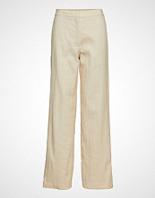 Theory Clean Trouser.Luxe L Vide Bukser Beige THEORY