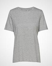 Minimum Kimma T-shirts & Tops Short-sleeved Grå MINIMUM