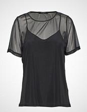 Bruuns Bazaar Thora Joy Tee T-shirts & Tops Short-sleeved Svart BRUUNS BAZAAR