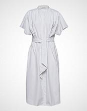 POSTYR Posdisa Shirt Dress Knelang Kjole Blå POSTYR