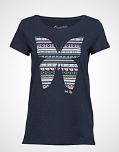 Edc by Esprit T-Shirts T-shirts & Tops Short-sleeved Blå EDC BY ESPRIT