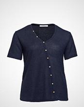 Violeta by Mango Buttons T-Shirt T-shirts & Tops Short-sleeved Blå VIOLETA BY MANGO