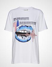 Gestuz Vibesgz Oz Tee Ze2 2019 T-shirts & Tops Short-sleeved Hvit GESTUZ