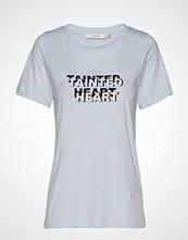 Gestuz Taintedgz Tee Ao19 T-shirts & Tops Short-sleeved Blå GESTUZ