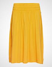 Lexington Clothing Jenni Jersey Skirt Knelangt Skjørt Gul LEXINGTON CLOTHING