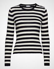 Filippa K Striped R-Neck Strikket Genser Multi/mønstret FILIPPA K
