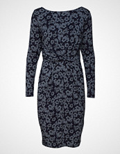 Park Lane Dress L/S Knelang Kjole Blå PARK LANE