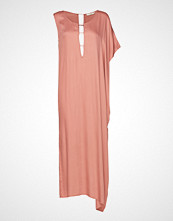 Rabens Saloner Barre Long Dress Knelang Kjole Rosa RABENS SAL R