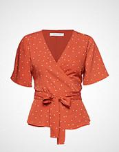 CAMILLA PIHL Hug Bluse Kortermet Oransje CAMILLA PIHL
