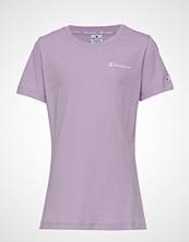 Cènnìs Crewneck T-Shirt T-shirts & Tops Short-sleeved Lilla CHAMPION