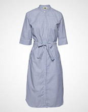 Twist & Tango Eva Shirt Dress Knelang Kjole Blå TWIST & TANGO
