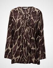 Masai Brook Top Bluse Langermet Multi/mønstret MASAI