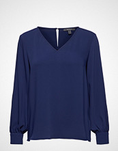 Esprit Collection Blouses Woven Bluse Langermet Blå ESPRIT COLLECTION