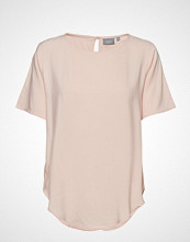 B.Young Byhailey O-Neck Blouse - Bluse Kortermet Rosa B.YOUNG