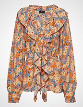 Stine Goya Mila, 567 Flowers Silk Bluse Langermet Multi/mønstret STINE GOYA