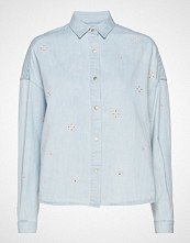 Scotch & Soda Boxy Western Shirt Langermet Skjorte Blå SCOTCH & SODA