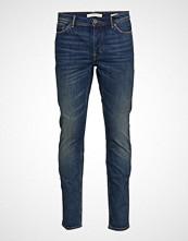 Mango Man Slim-Fit Vintage Wash Tim Jeans Slim Jeans Blå MANGO MAN