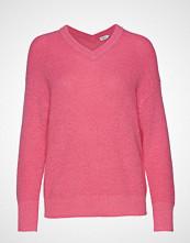 Filippa K Alpaca V-Neck Sweater Strikket Genser Rosa FILIPPA K