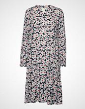 Lollys Laundry Audrey Dress Knelang Kjole Rosa LOLLYS LAUNDRY