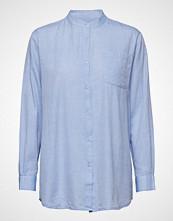 Moshi Moshi Mind Always Shirt Chambray Langermet Skjorte Blå MOSHI MOSHI MIND