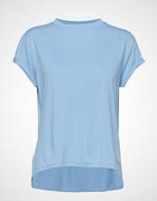 Skins Activewear Siken Womens T-Shirt T-shirts & Tops Short-sleeved Blå SKINS