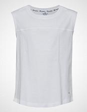 Cènnìs Tank Top T-shirts & Tops Sleeveless Hvit CHAMPION