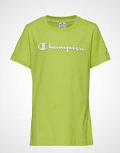 Cènnìs Crewneck T-Shirt T-shirts & Tops Short-sleeved Grønn CHAMPION