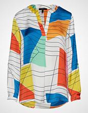 Esprit Collection Blouses Woven Bluse Langermet Multi/mønstret ESPRIT COLLECTION