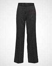 Bruuns Bazaar Brisa Catrine Pant Vide Bukser Svart BRUUNS BAZAAR