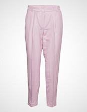Gerry Weber Crop Leisure Trouser Bukser Med Rette Ben Rosa GERRY WEBER