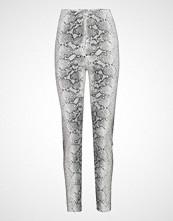 Gina Tricot Snake Trousers Stramme Bukser Stoffbukser Multi/mønstret GINA TRICOT