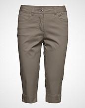 Brandtex Capri Pants Skinny Jeans Beige BRANDTEX