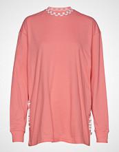 Vans Emea Centrl Ls T-shirts & Tops Long-sleeved Rosa VANS