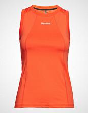 Newline Black Tank T-shirts & Tops Sleeveless Oransje NEWLINE